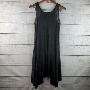 Free People Women's Swing Dress Size Large LBD EUC
